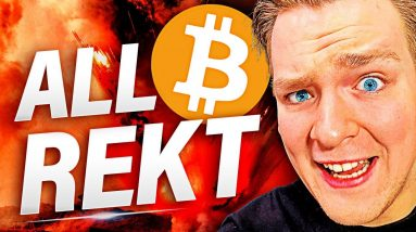 BITCOIN AND ALTCOINS REKT!!! [Emergency update] Calm Down... Or Panic