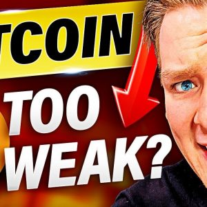 BITCOIN TOO WEAK? Schrödingers Bitcoin Pattern - Ivan on Tech