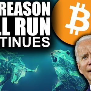 Bitcoin's BEST News in Months (Top Reason Bull Run Continues 2021)