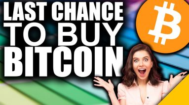 LAST Chance to Buy Bitcoin Under $50k (STRONGEST Indicator)