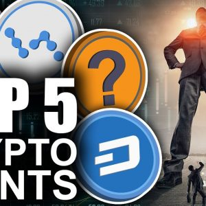 Top 5 Crypto Sleeping GIANTS (BEST Opportunity for Gains)