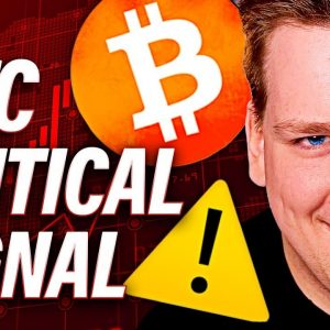 BITCOIN CRITICAL SIGNAL [FAKE RECOVERY] OR NOT @Ivan on Tech Explains