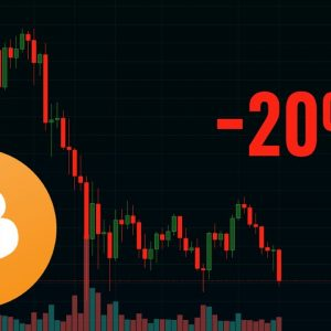 Bitcoin Down 20% In A Week | Crypto Livestream