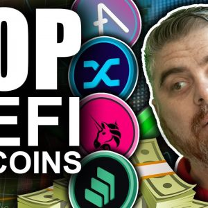 Top Defi Altcoins Ripping (AAVE, UNI, COMP, SNX up 50%+)