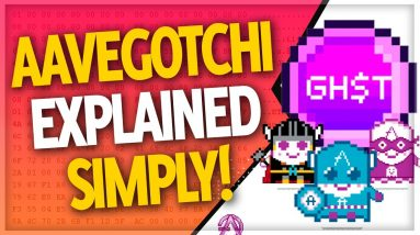 Aavegotchi GHST is an NFT gaming crypto with HUGE potential | (Aavegotchi Explained!)
