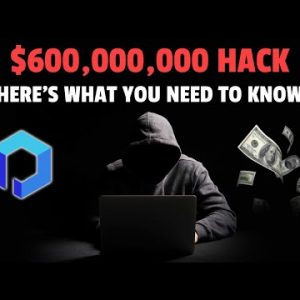 $600M In Crypto Stolen | Here's What You Need To Know