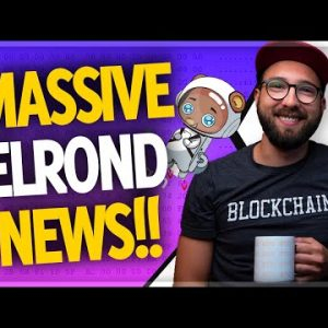 Elrond Network just got a HUGE BOOST! 🚀 | Cardano smart contracts on track for September 12th