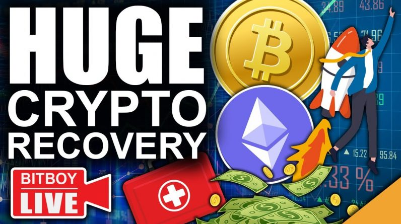 Bitcoin & Ethereum Having Strong Recoveries (Fed Commits To Printing)